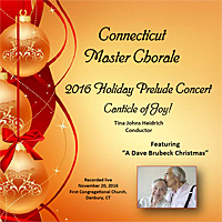 2016 Holiday Prelude Concert CD